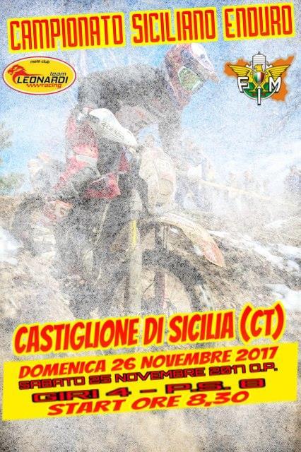 Calendario Regionale Sicilia.Aggiornato Il Calendario Enduro Regionale 2017 Fmi